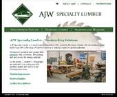 AJW Specialty Lumber Logo